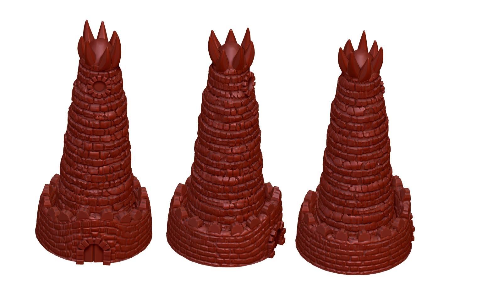 Czerwone Wieże